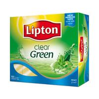 ليبتون شاي أخضر نعناع 100 كيس