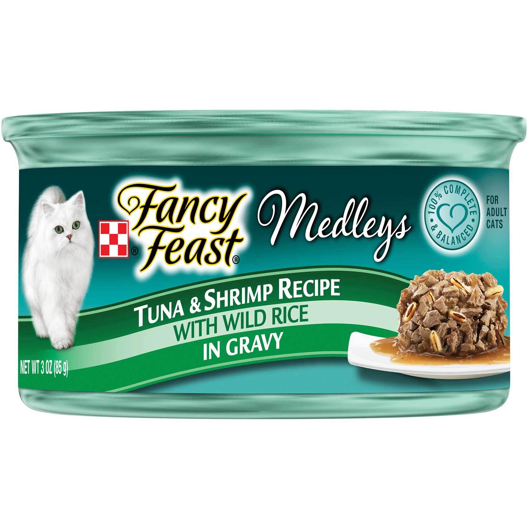 FANCY FEAST MEDLEYS TUNA&SHRIMP85G