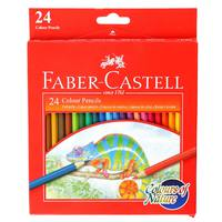 Faber-Castell Nature Pencils Long 24 Col
