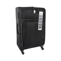 Travel House Soft Luggage 4 Wheels Size 28 Inch Black