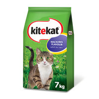 Kitekat™ Mackerel Flavour Dry Cat Food Adult 7kg