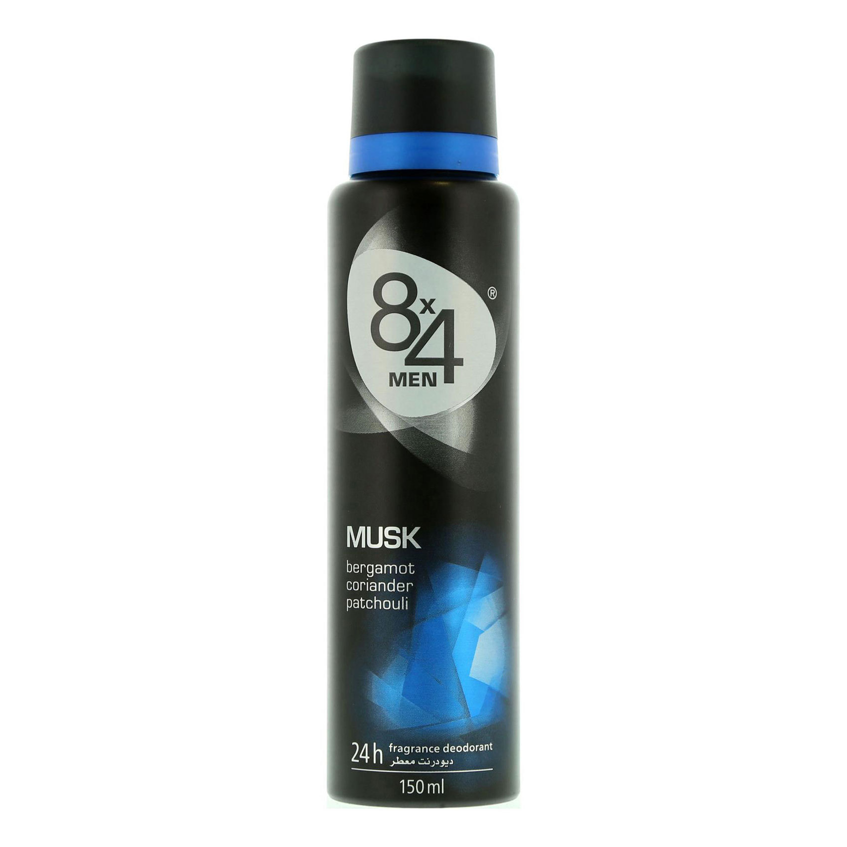 8X4 DEO SPRAY MUSK FOR MEN 150ML