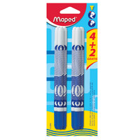 Maped Eraser Pen 6Pcs