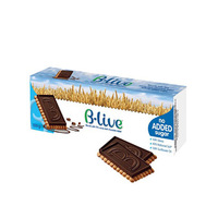 B-Live Biscuit Cocoa Dark Chocolate 100GR
