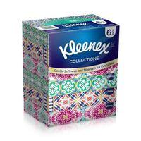 Kleenex Facial Tissues Collection 100 Sheets Soft 6 Packs