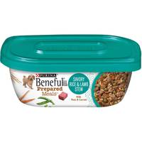 Purina Beneful  Prepared Dog Food Meal Rice and Lamb Stew Tub 283g