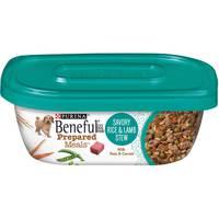 Purina Beneful  Prepared Dog Food Meal Rice and Lamb Stew Tub 283g