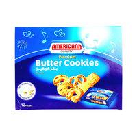 Americana Premium Butter Cookies 44g x12