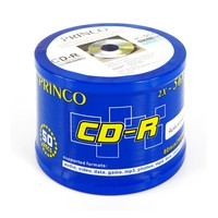 Princo CD-R 700MB 80dk 56x Speed Pack Of 50