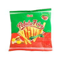 Oishi Potato Fries Baked Not Fried Tomato Ketchup Flavor 50g