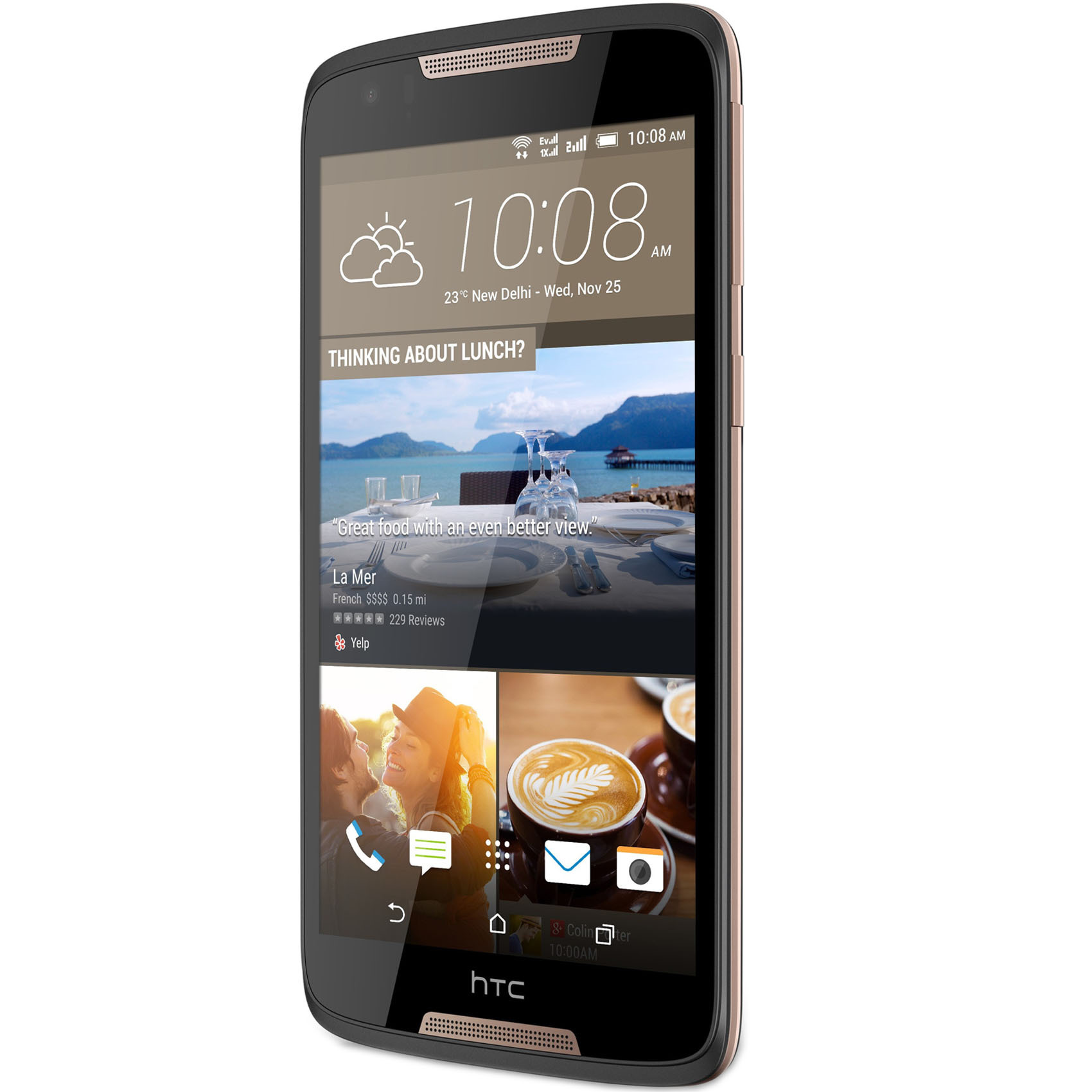 HTC DESIRE 828 16GB DS 4G GRAY/GOLD