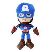 Marvel Plush Captain America Action Figure 10