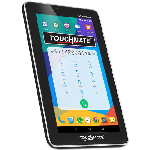 "Touchmate-Tablet-MID795-1GB-RAM,8GB-Memory,3G,7""-Black+Free-Hotel-Stay-Voucher"