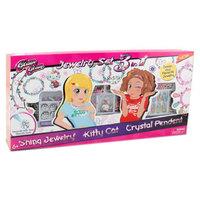 Power Joy Glam Glam Kitty & Crystal Jewelry Large