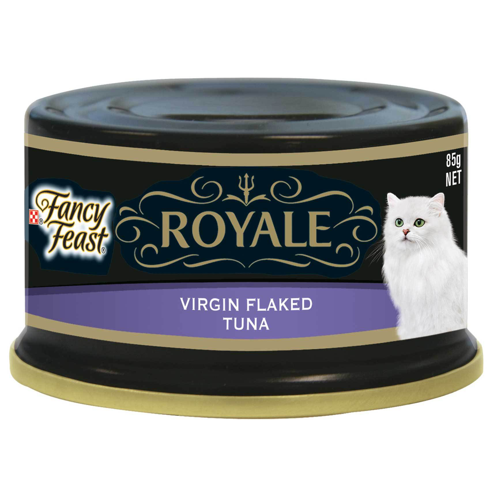FANCY FEAST RYL VRGN FLK TUNA 85G