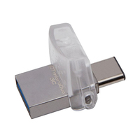 Kingston Digital Data Traveler MicroDuo USB 3.0 128GB  Flash Drive