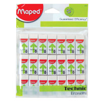 Maped 300Mini Tech Erasers 21Pcs Pb