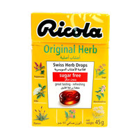 Ricola Original Herb Swiss Herb Drops Sugar Free 45 Gm