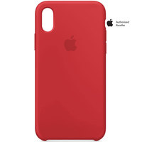 Apple Case iPhone X Silicon Red