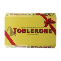 Toblerone Swiss Milk Chocolate With Honey & Almond Nougat (7x50g)