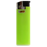 Bic Electric Lighter Big Size Yellow Colour