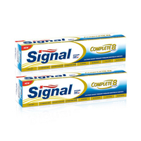 Signal Toothpaste Complete 8 Gold 100ML X2 -20% Off