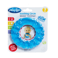 Playgro Soothing Circle Water Teether Blue
