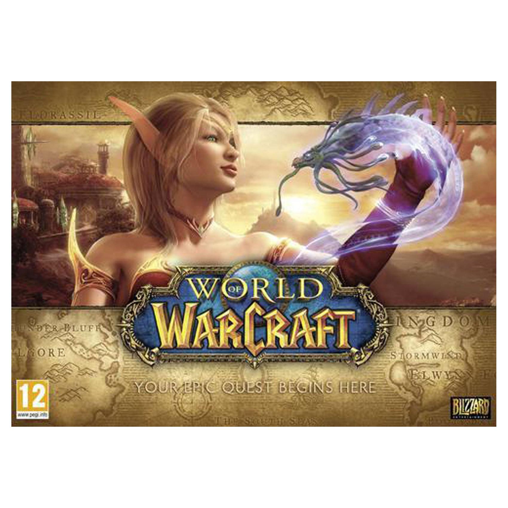 PC WORLD OF WARCRAFT BATTLECHEST 4