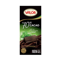 Valor 70% 70% Dark Chocolate with Mint 100GR