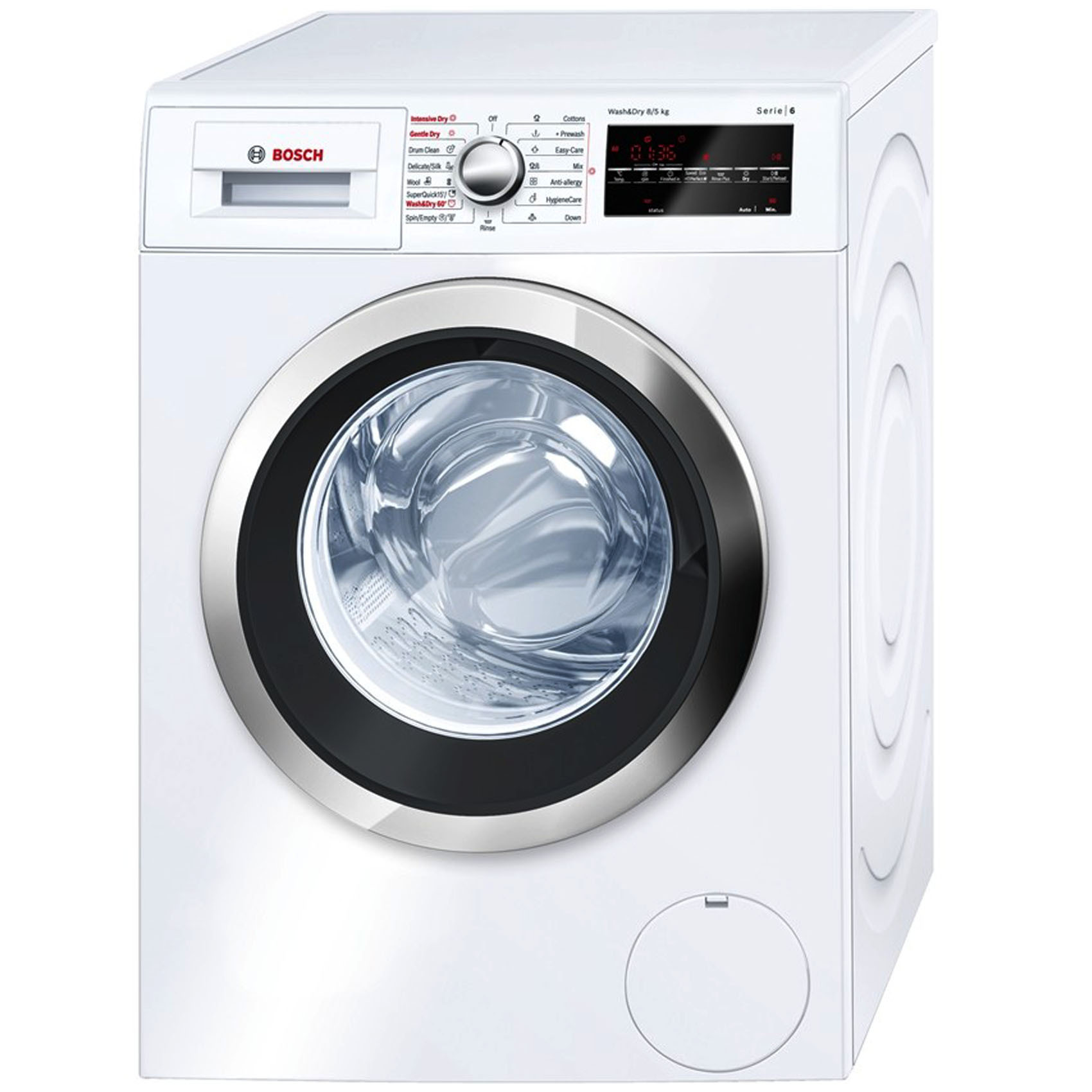 BOSCH W/DRYER WVG30460GC 8/5KG
