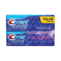 Crest Toothpaste 3D White Fresh 100ML X2 25% Off