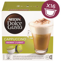 Nescafe Dolce Gusto Skinny Cappuccino Coffee Capsules (16 Capsules, 8 Cups)