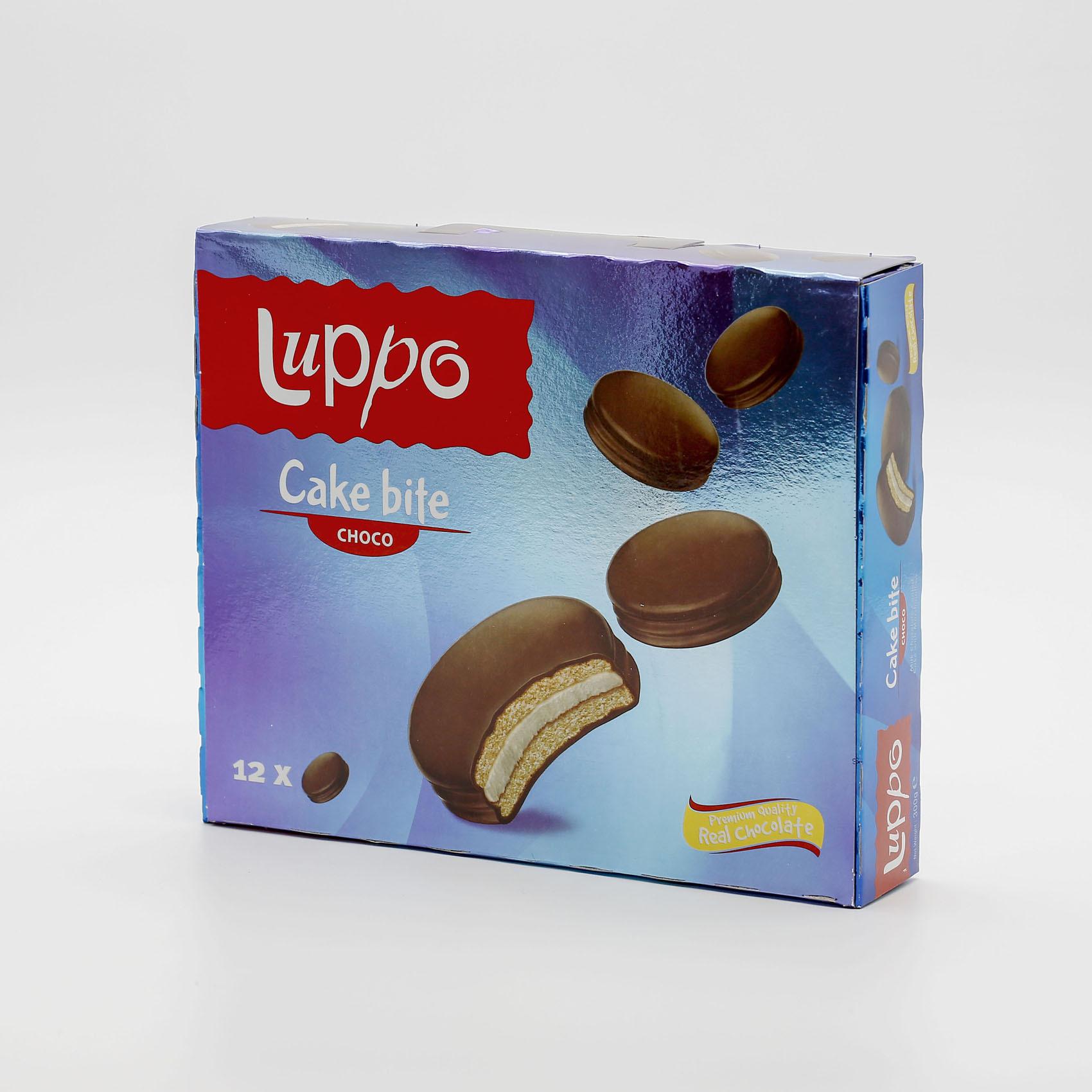 LUPPO CAKE BITE CHOCO CAKE 25GX12