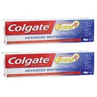 Colgate Total Advanced Whitening Toothpaste 75ml x2