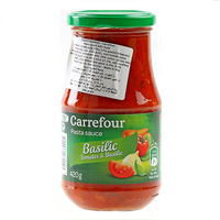 Carrefour Basil Tomato Sauce 420g