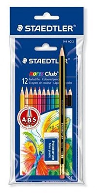 Staedtler Colored Pencils Noris Club Pack Of 6 Pieces
