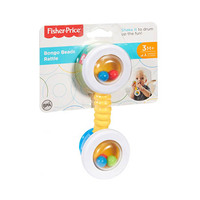 Fisher Price Musical Baby Bongo Beads Rattle 3 Months+