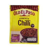 Old El Paso Seasoning Mix For Chilli Mild 39g