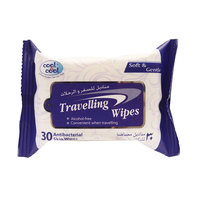 Cool & Cool Travelling 30 Wipes