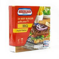 Americana Burger Barbeque 1.3k g 24 Pieces