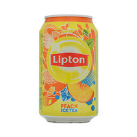 Lipton Peach Flavoured Ice Tea Drink Can 320ML