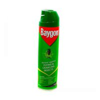 Baygon Flying And Crawling Insect Killer Aerosol 400 ML