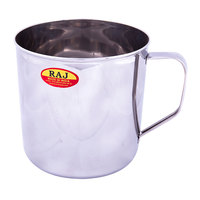 Raj Stainless Steel Mug Deluxe 10Cm