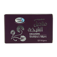 Cool & Cool Exclusive Sheikha'S 12 Wipes