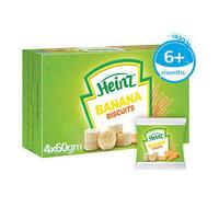 Heinz Banana Biscuit 6+ Months 240GR