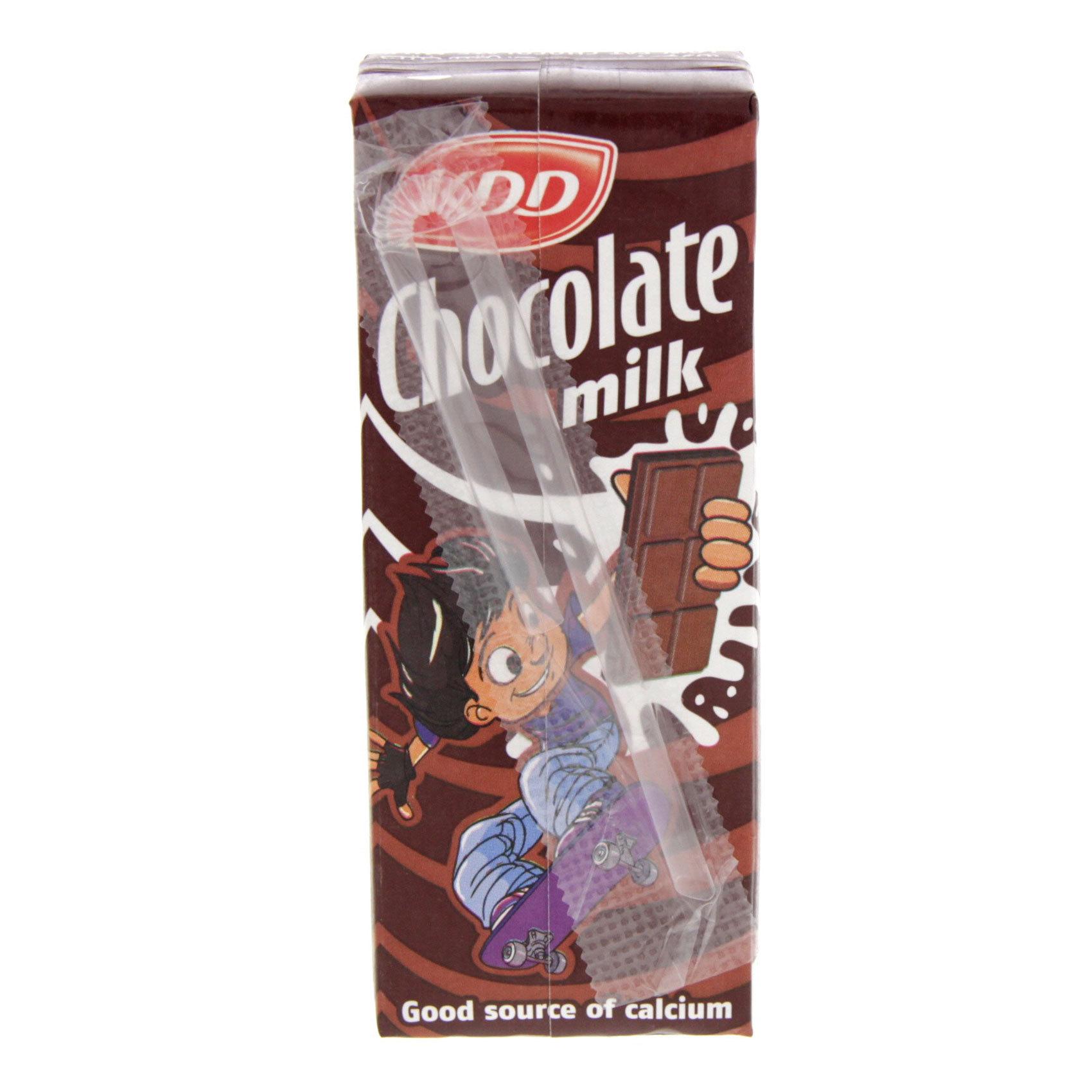 KDD UHT CHOCOLATE MILK 180ML.