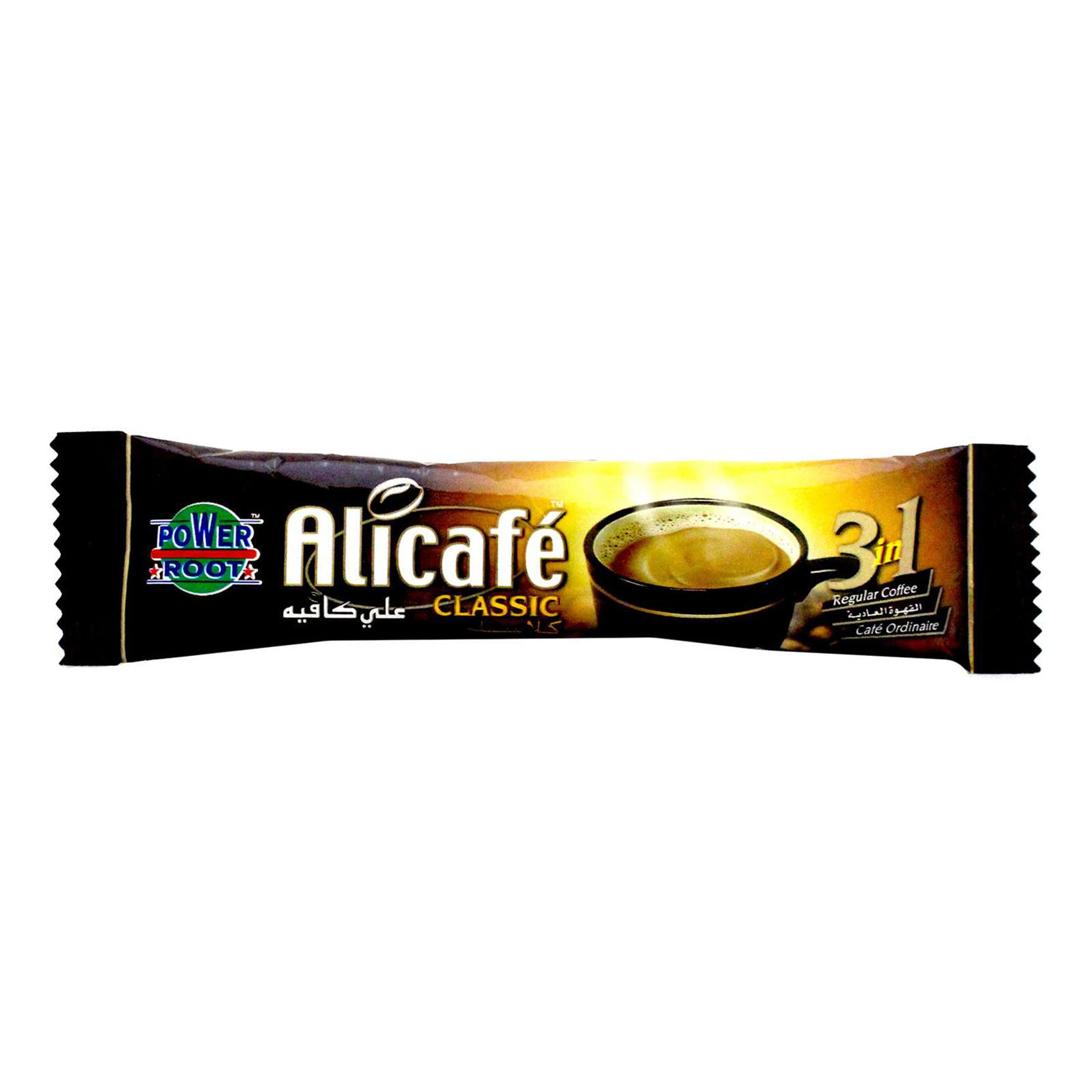POWER ROOT ALI CAFE CLSC 3IN1 20G