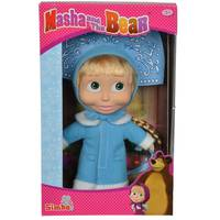 "Simba ""Masha and The Bear - New Year Soft Doll, 23 cm"