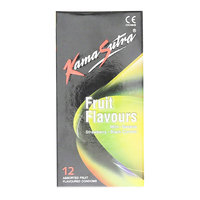 Kama Sutra Fruit Flavor Condoms 12's