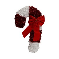 Decoration Tinsel Candy Cane